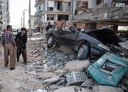 이란 강진 올해 최악 인명피해…400여명 사망·7천명 부상