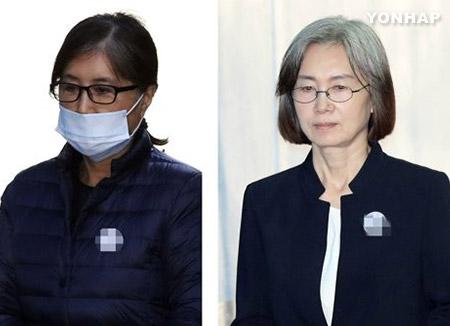 '정유라 특혜' 최순실 2심도 징역 3년…최경희 징역 2년