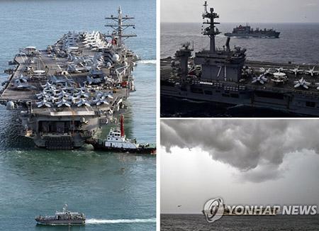 """미국 의회 """"핵탑재폭격기·핵미사일 잠수함 아태지역 배치"""" 요구"""