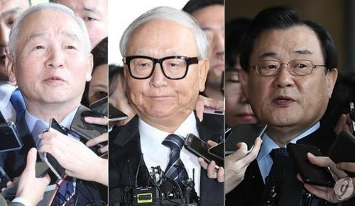 Arrest Warrants Sought for All 3 Ex-NIS Chiefs during Park Geun-hye Government