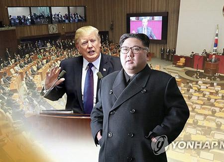 米大統領が声明発表 米朝対話の可能性示唆か