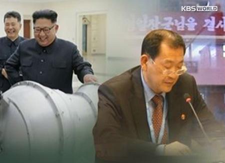 Le représentant nord-coréen à Genève coupe court à la possibilité de négocier avec Washington