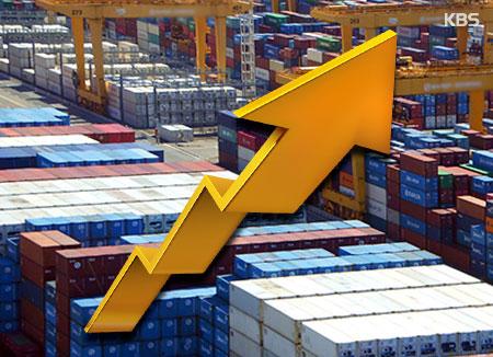كوريا الأولى عالميا من حيث معدل زيادة الصادرات