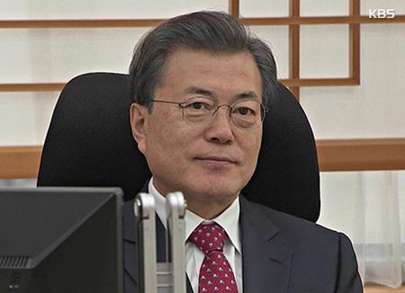 Le président Moon donne son feu vert à la désignation de Pohang comme zone sinistrée spéciale