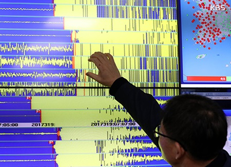 浦項地震 余震続く