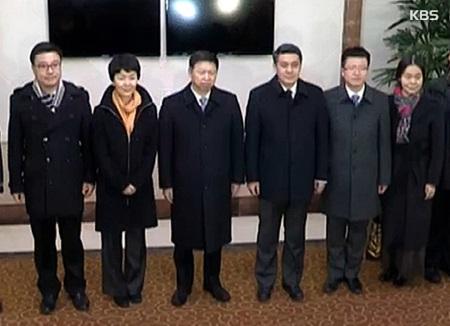 中国特使 金委員長との会談は実現せず