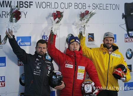 Yun Sung-bin Wins 2nd Skeleton World Cup Title of Season