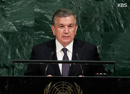 Президент Узбекистана Шавкат Мирзиёев выступит в Национальном собрании РК