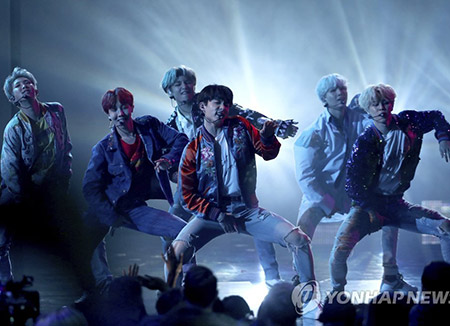 BTS Performs at 'Jimmy Kimmel Live'