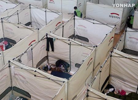 浦項地震から4年 被災住民、テントでの避難生活終える