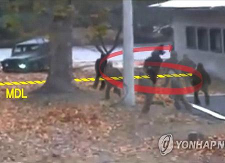 北韓 JSAの警備兵力全員交代
