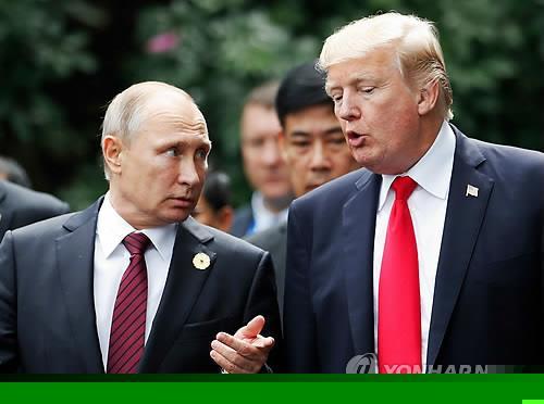 Trump, Putin Discuss N. Korean Nuclear Issue