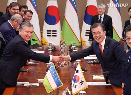 РК и Узбекистан договорились укреплять отношения стратегического партнёрства