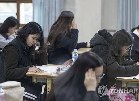 大学修学能力試験 23日、全国で一斉に実施