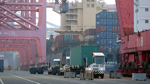 October Exports Fall but Chips Still Going Strong