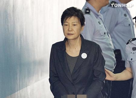 朴前大統領が出廷拒否 裁判所が「欠席裁判」決定