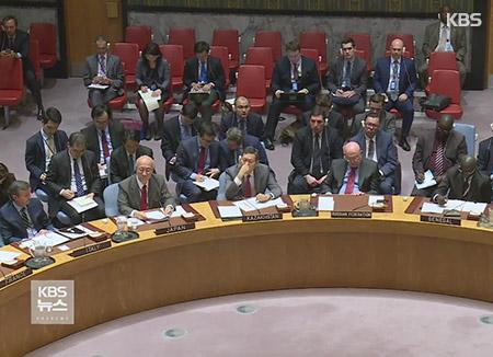 国連安保理会議 米大使「北韓との外交・貿易中断を」