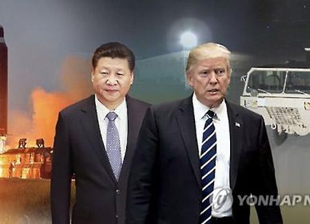 米大統領 中国に北韓への原油輸出中断求める
