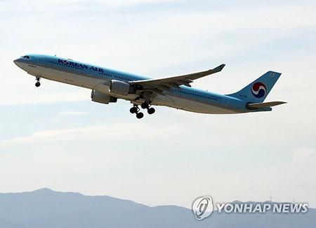 大韓航空 チャーター機でバリ島の韓国人輸送