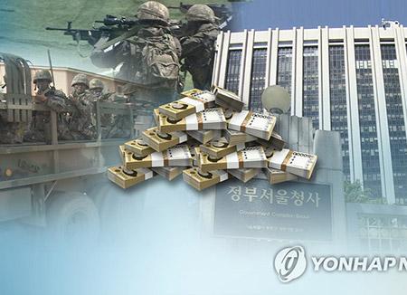 韓国の防衛費支出 去年368億ドルで世界10位に