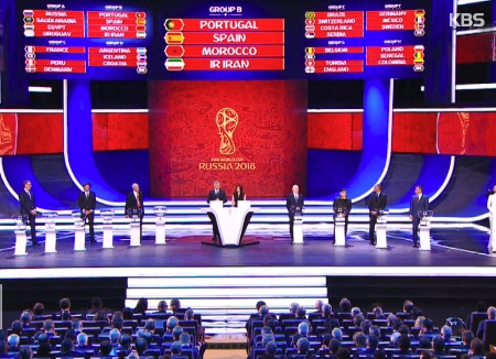 S. Korea in Group F with Germany, Mexico, Sweden for Russia World Cup