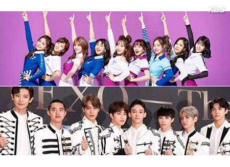 트와이스·엑소, 일본 타워레코드 결산 'K팝 베스트셀러'
