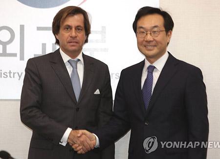 한·불 고위급 북핵협의…북한 ICBM급 미사일 대응 논의