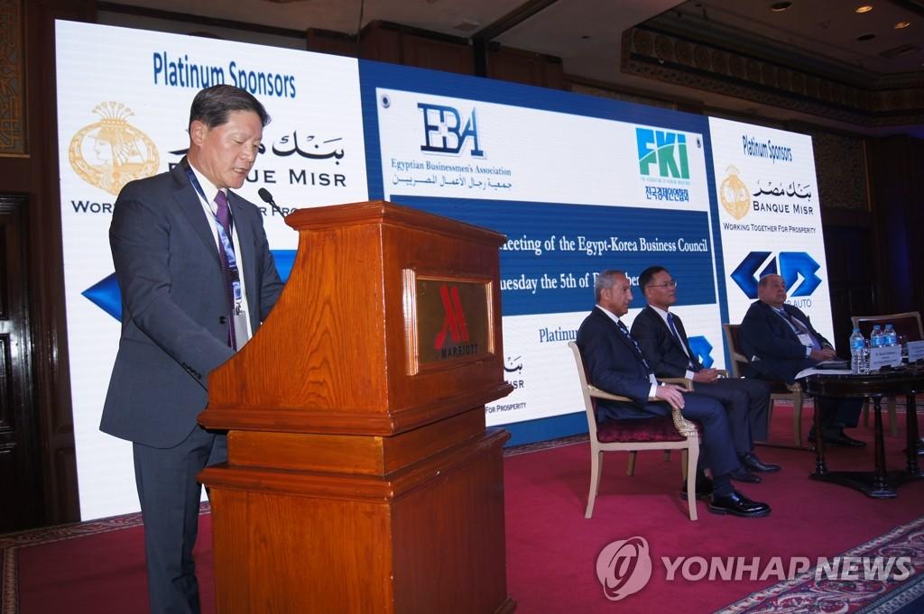 한국 경제사절단, 이집트서 대형 프로젝트 참여 논의