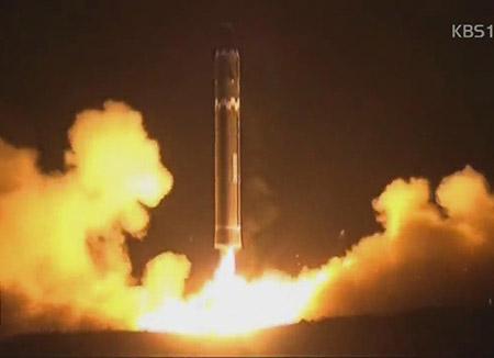 """""""火星-15型""""具备干扰""""萨德""""拦截系统的能力"""