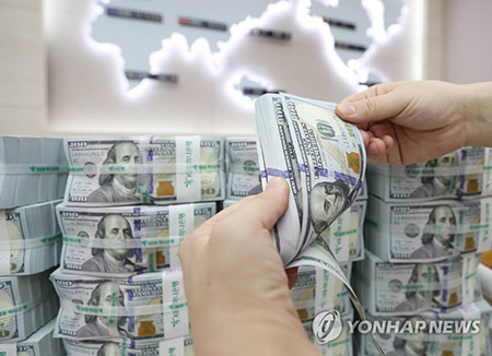 Jumlah Cadangan Devisa Korea Selatan pada Bulan November Mencapai 387,2 Miliar Dolar Amerika