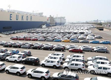 توقعات بانخفاض قياسي في الفائض التجاري الكوري مع أمريكا