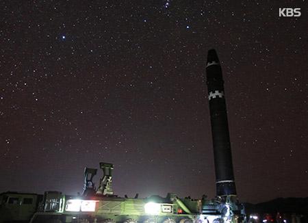"CNN ""북한 '화성-15' 밤하늘 별자리 배경사진 조작 정황"""
