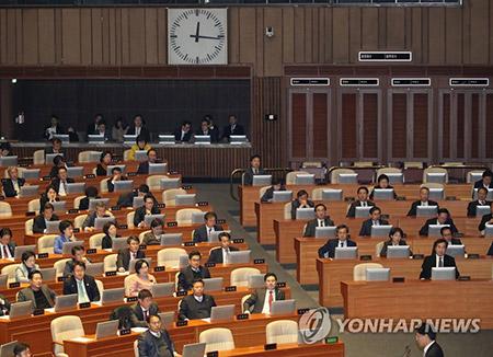 지난해 결산안 국회 본회의 통과…6년째 지각 처리