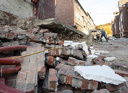 El terremoto de Pohang generó más pérdidas que el de Gyeongju
