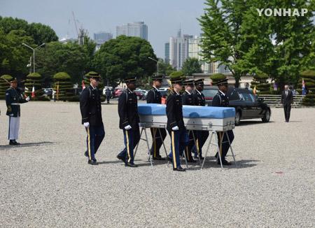 미 국방부, 6·25 미군 전사자 유해 찾은 한국인에 훈장