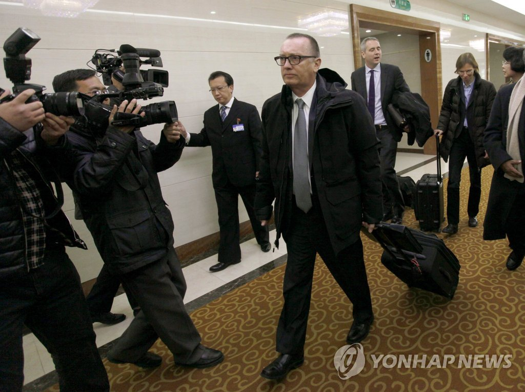Korea foreign minister meets senior United Nations official in Pyongyang
