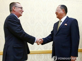 UN Envoy Meets N. Korean Foreign Minister