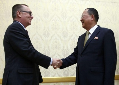 UN Political Chief Meets N. Korean Foreign Minister on 4-day Trip