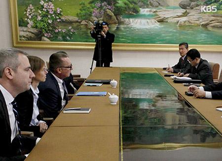 UN Official Meets Russian Ambassador to N. Korea in Pyongyang