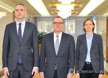国連事務次長 北韓外務次官と平壌で会談