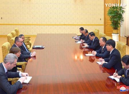 北韩与联合国就双方进行例行对话达成协议