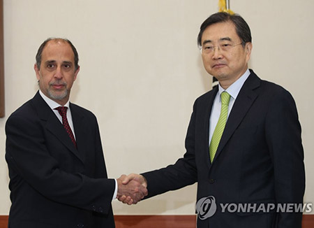 UN Envoy on N. Korean Human Rights Visits S. Korea
