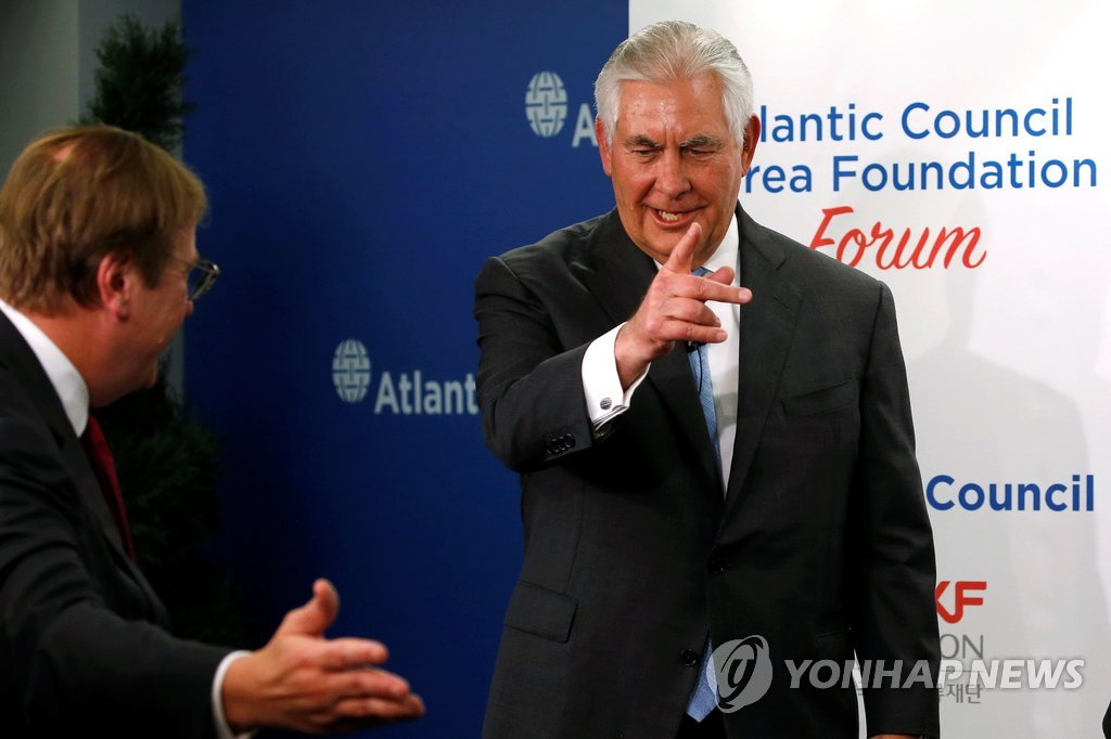 Tillerson softens United States stance on possible talks with NKorea