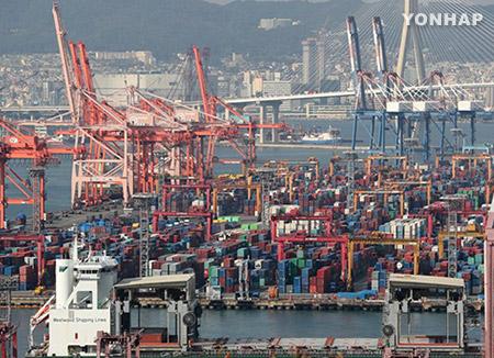 韩国对外贸易额3年来首破万亿美元 出口排名世界第6