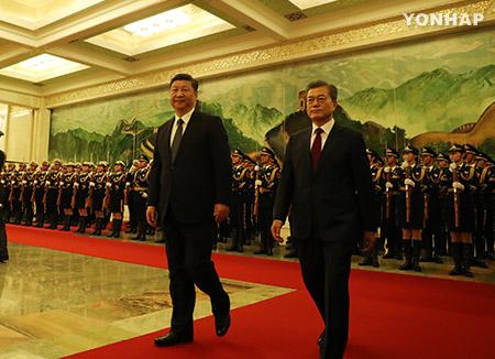 Moon bezeichnet China als Schicksalsgenossen Südkoreas