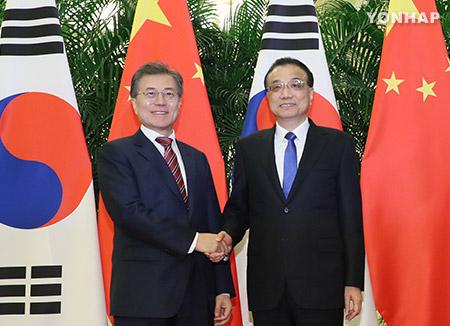 Moon Hopes S. Korea, China Will Enter Era of Mutual Prosperity