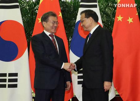 Primer ministro chino desea mejor relación con Corea del Sur