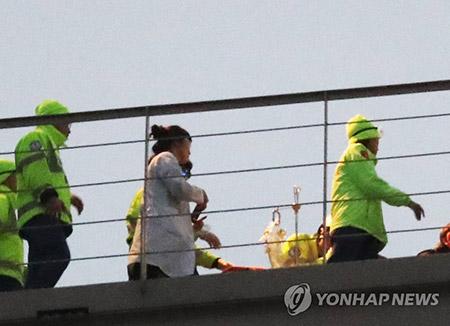 귀순 북한 병사 국군수도병원 이송…귀순 동기 조사