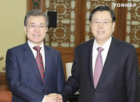Tổng thống Hàn Quốc khép lại chuyến thăm Trung Quốc ba ngày