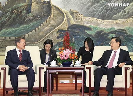 文在寅总统前往重庆参观韩国临时政府旧址